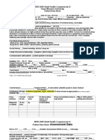 week 5 Patient Data Sheet N4045 01 05 2014