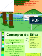 Copia de Etica, Moral y Paradigmas Ambientales-2
