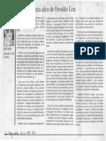 90 años del padre Osvaldo Lira por Gonzalo Vial