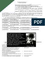 Examen de Espanol 2 de 4to Bim