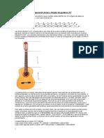 01c Proporción Áurea y Trastes de Guitarra