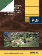 Manual de Diseño de Carreteras No Pavimentadas de Bajo Volumen de Tránsito