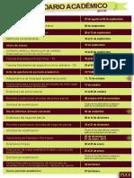 Calendario Académico 2013-02