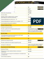 Calendario Académico 2014-01