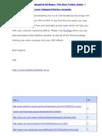 134 High PR Edu Wordpress Blogs PR1 to PR9