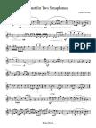 Duet for Two Saxaphones - Soprano Sax