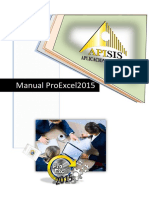 Manual ProExcel 2015 Completo