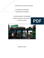 Coal Production Methods - Current Issues and Trends