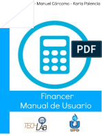 Guía Para El Uso de La Aplicación Financer