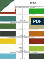 LJ Color Chart