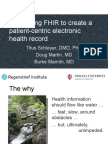 Leveraging FHIR to create a patient-centric electronic health record