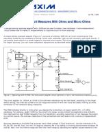 AN106 miliohmetro_microohmetro