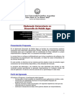 2016 Brochure Diplomado Desarrollo de Mobile Apps