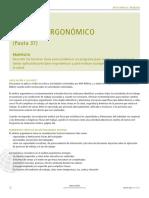 Ergonomic Analysis Spanish
