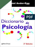 Diccionario de Psicologa (2a. Ed.)