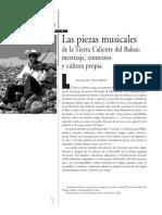 Las Piezas Musicales de La Tierra Caliente Del Balsas