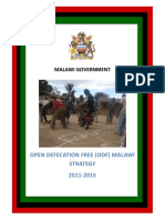 Malawi Government 2011 ODF