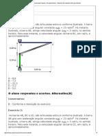 Exercicios Modulo 5 949s - Cinematica Dos Solidos