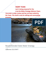 Recommended State Water Strategy