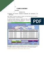 Acta de Inventario Clinica Arenas - Novedades