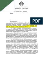 PROYECTO DE ORDENANZA PARA CONFORMACION DE COMISION AMBIENTAL MUNICIPAL - EL AGUSTINO