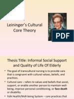 madeleine leininger theory