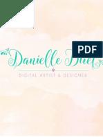 Danielle Duet   Digital Portfolio