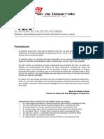 4TO FORO de Salud en Colombia.