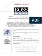 BossOffice Books Membership Request