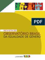 Revista Do Observatório Brasil Da Igualdade de Gênero