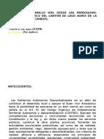 Presentacion Del Proycto de Asfaltado