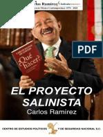 El  Proyecto Salinista