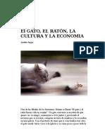 El gato, el ratón, la cultura y la economía-A Jappe