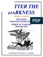 Shatter Prayer Map Intercession Warfare Prayer (1)