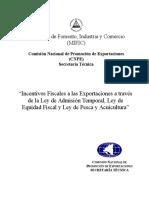 Resumen de Incentivos Fiscales