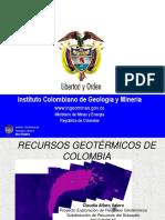 4. Exploracion Geotermica Colombia - CLAUDIA ALFARO VALERO