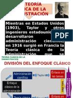 Exposicion 4.Teoria Clasica de La Administracion