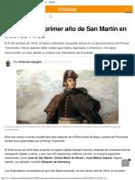 El Alucinante Primer Año de San Martín en Buenos Aires - Infobae