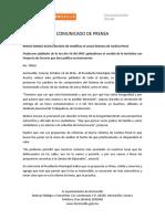 12-10-16 Reitera Maloro Acosta Decisión de Modificar El Actual Sistema de Justicia Penal. C-78816