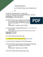 To Do List Activities Mandarin Class 2015 2016 Sem1