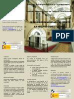 Folleto Premio Iberoamericano Ensayo 2016