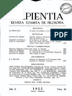 Revista Sapientia38 - Cristiano y Libertad
