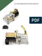 valvula iac idle air control valve iac fsn52