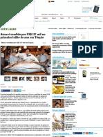 Atum é vendido por US$ 117 mil no primeiro leilão do ano em Tóquio