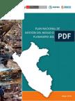 Plan Nacional de Gestión de Riesgos de Desastres