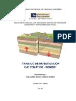 Analisis Estadistico de Sismos en Peru