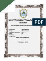 Informe i de Parasitologia
