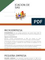 Clasificacion de Empresas Ppt