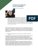 Barreras Al Comercio Electrónico en Colombia
