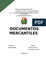 Trabajo. Documentos Mercantiles (1)